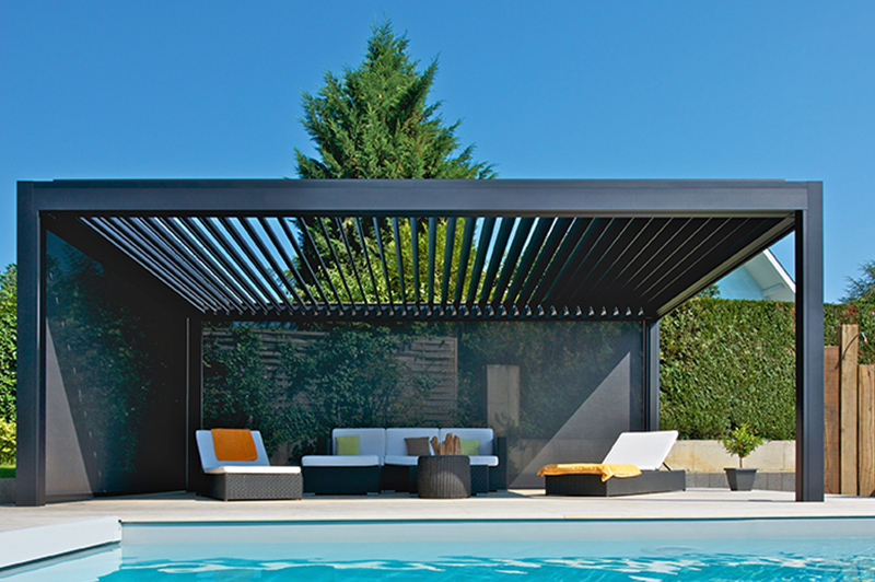 pergolas lames orientables paris nord fermetures. Black Bedroom Furniture Sets. Home Design Ideas